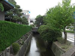 武庫之荘駅の北側の住宅街