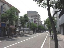 武庫之荘駅南側