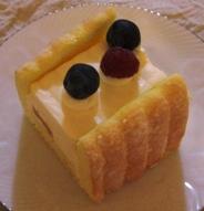 アンテノールのレアチーズケーキ