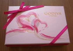 GODIVA(St. Valentine's Day)