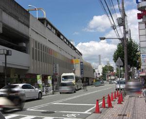 阪急園田駅北側の写真