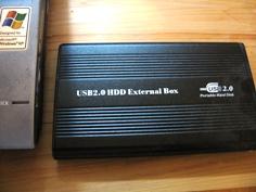 2.5インチ外付けハードディスクケース