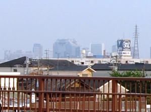 戸ノ内橋からの風景