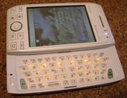 W-ZERO3のキーボード